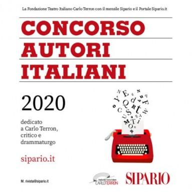 SIPARIO: CONCORSO AUTORI ITALIANI 2020 - IX° Edizione