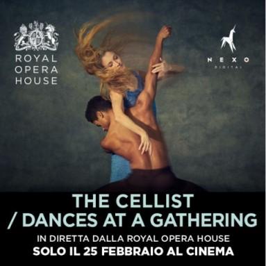 """In diretta al cinema da Londra a febbraio la prima mondiale di """"The Cellist"""" del Royal Ballet - Martedì 25 febbraio 2020"""