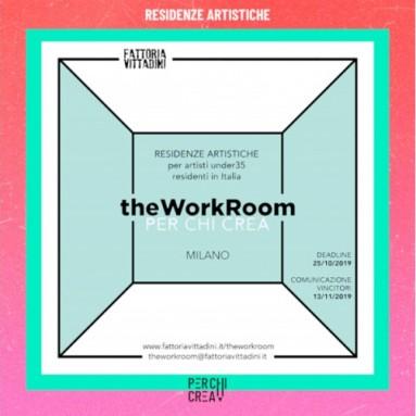 theWorkRoom_PER CHI CREA - bando di residenza per artisti della danza under35 residenti in Italia