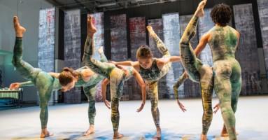 RAMBERT EVENT - coreografia Merce Cunningham