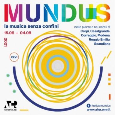 MUNDUS La musica senza confini - 26° edizione del Festival MUNDUS. Dal 15 giugno al 4 agosto 2021